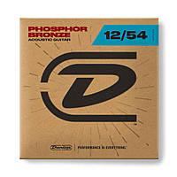 Струни для акустичної гітари DUNLOP DAP1254 Phosphor Bronze Light (12-54)