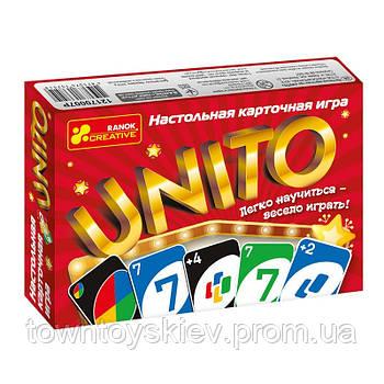 """Настольная игра """"Унито"""" (Р) 12170007"""