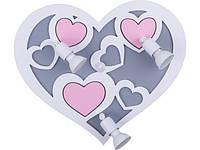 Настенный светильник для детской Nowodvorski 9064 HEART