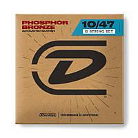 Струни для акустичної гітари DUNLOP DAP1047J Phosphor Bronze Extra Light Set/12 (10-47)