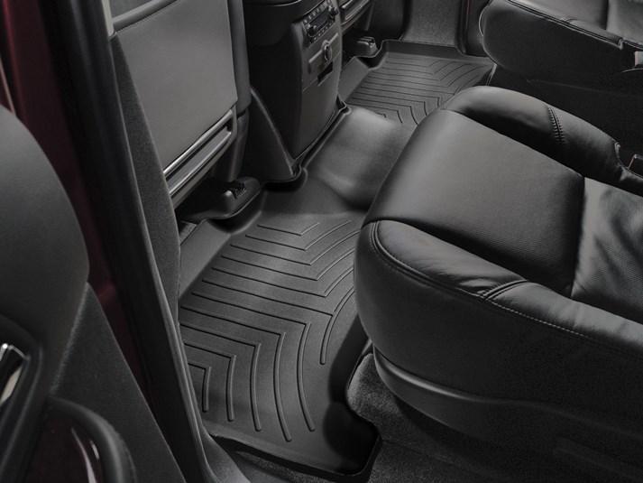 Ковры резиновые WeatherTech Cadillac Escalade 2007-2014 задний черный