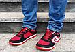 Кросівки кеди чоловічі в сіточку червоні, фото 5