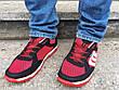 Кросівки кеди чоловічі в сіточку червоні, фото 6