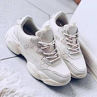 Красивые кроссовки с оригинальной платформой