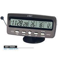 Часы автомобильные VST 7045 (200)