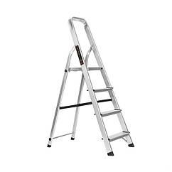 Лестница-стремянка Dnipro-M алюминиевая с тросиком 4 ст