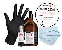 Защитный набор антисептики перчатки Safety box family size