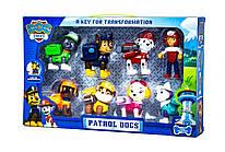 Детский  игровой набор DOG SWAT Щенячий Патруль Герои-спасатели (8 в 1) (6050) (36)