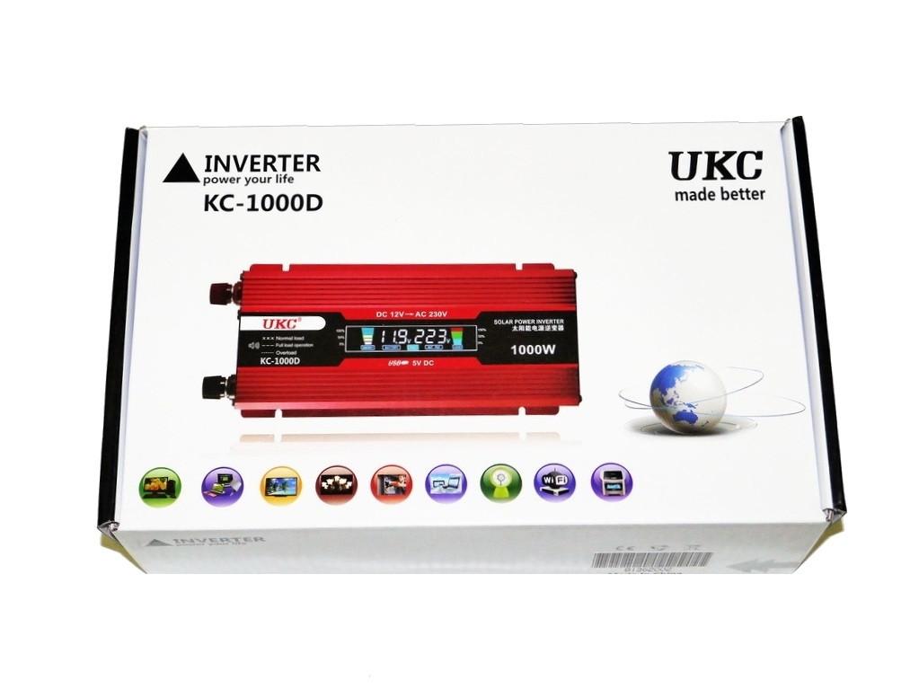 Преобразователь UKC 1000W с экраном LED (20)