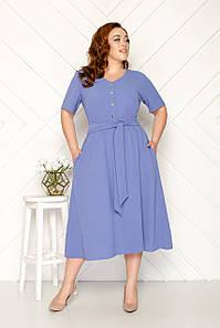 Летнее короткое платье 50-56 р ( разные цвета )