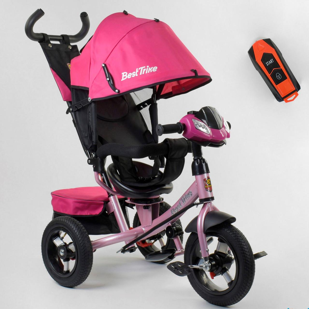 Трехколесный велосипед Best Trike 7700 В / 78-565  Розовый Гарантия качества Быстрая доставка