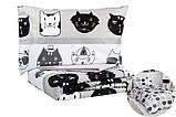 Комплект постельного белья двуспальную Lovely Cats 4 сезона Ранфорс 200х220 см (57548_2.0LH_4s), фото 6