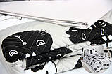 Комплект постельного белья двуспальную Lovely Cats 4 сезона Ранфорс 200х220 см (57548_2.0LH_4s), фото 3