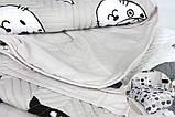 Комплект постельного белья двуспальную Lovely Cats 4 сезона Ранфорс 200х220 см (57548_2.0LH_4s), фото 5