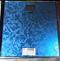 Ваги підлогові електронні RSB06-P, макс.вага 150кг, LCD диспл., склянна платформа 6мм, автовимк./6