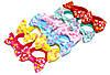 Детские Резиночки для волос с бантиком - цветочки (12 шт)