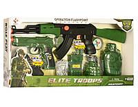 Детский игровой набор военного M016AB (автомат, пистолет, гранаты)