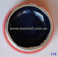 Цветной гель Canni 5 мл с блеском №126