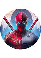 Вафельная картинка Человек паук 1