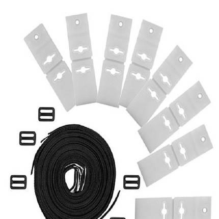 Запасной комплект для крепления солярной пленки к ролетам PCR01 Bridge (8 шт) (ps0217001), фото 2