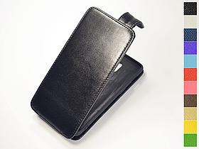 Откидной чехол из натуральной кожи для OnePlus 6T