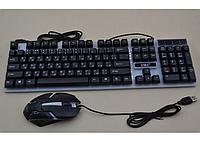 Клавиатура + мышь + подсветка M-416. Игровая клавиатура, фото 1