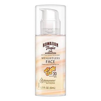 Cолнцезащитный лосьон для лица Hawaiian Tropic SPF30 Silk Hydration Weightless Sunscreen Lotion