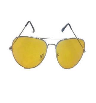 Очки Антибликовые в металлической оправе водительские HD Vision Visor