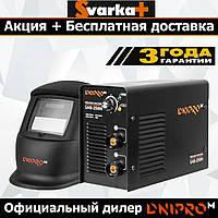 Сварочный инвертор Dnipro-M SAB-258N + Маска Хамелеон WM-39ВС. ( Аппарат Дніпро-М )