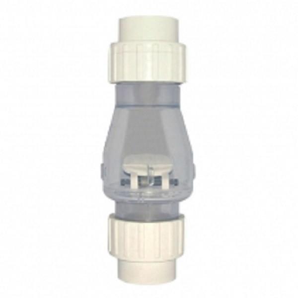 Обратный клапан прозрачный Bridge 50мм (КВ) (ps0212015)