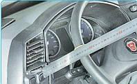 Проверка свободного хода (люфта) рулевого колеса.