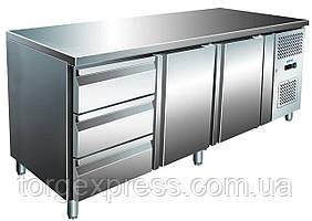 Холодильный стол Berg GN3230TN 2 двери + 3 ящика