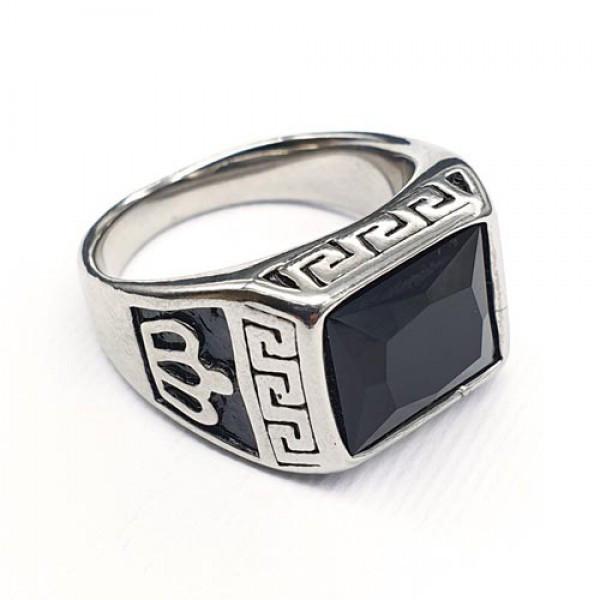 Кольцо-перстень из медицинской стали мужское 175897