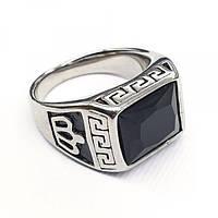 Кольцо-перстень из медицинской стали мужское 175897, фото 1