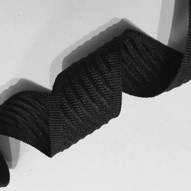 Тесьма матрасная 30мм цв черный (боб 50м) М-30 Ekoflex