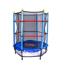 """Батут для детей с сеткой Let'sGo 50"""", диаметр 127 см."""