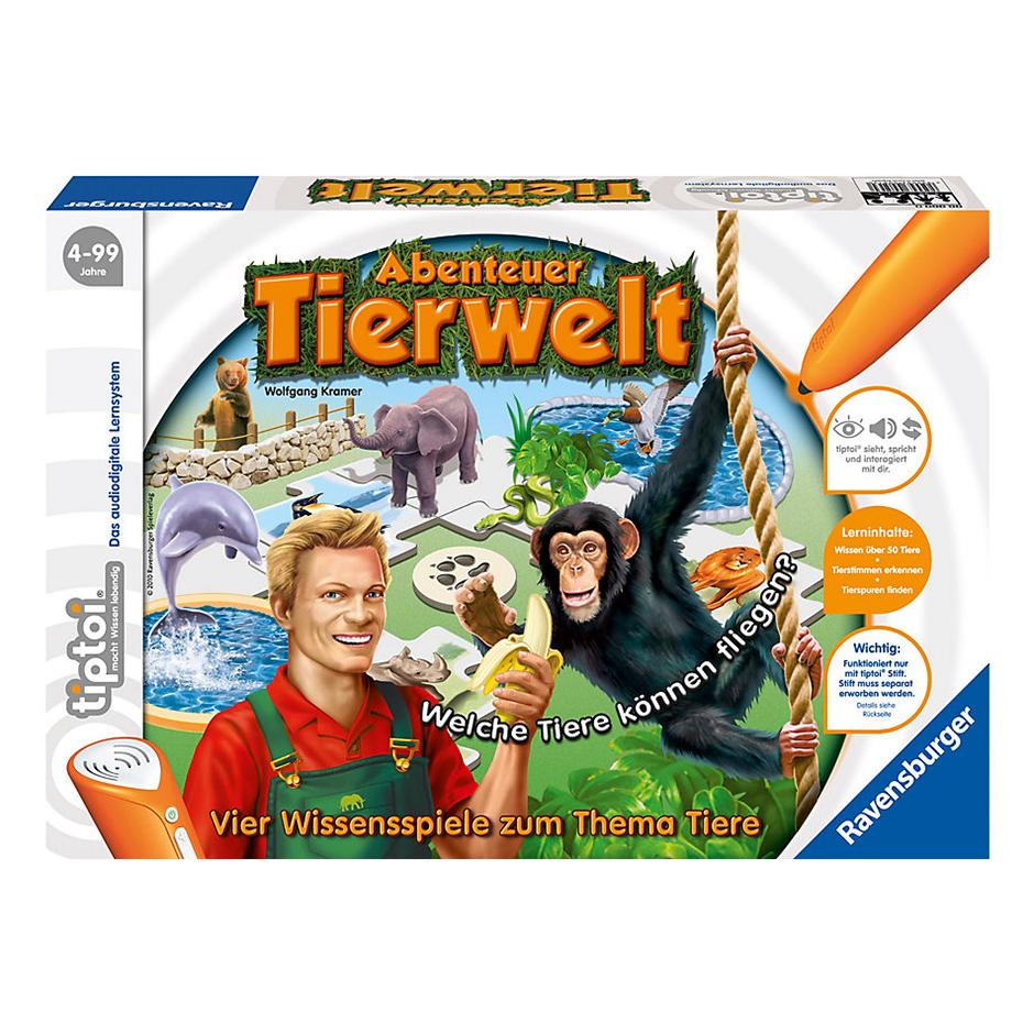 Набор игровой приключения в мире животных, без ручки Ravensburger (726)