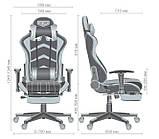 Офисное геймерское кресло VR Racer Dexter Megatron черный/желтый AMF (бесплатная адресная доставка), фото 7