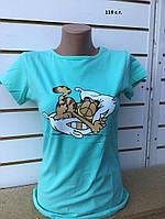 Женская футболка Гарфилд 119 с.т., фото 1