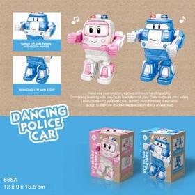 Робот 668A Robocar POLI батар.муз.свет.танц.2цв.кор.16*9*12 /72/