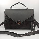 Жіноча сумка плншетка клатч / Женская сумка планшетка клатч 9116, фото 2