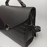 Жіноча сумка плншетка клатч / Женская сумка планшетка клатч 9116, фото 3