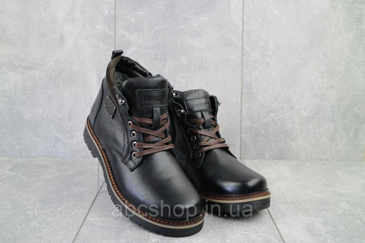 Ботинки мужские Zangak 940 ч-л  (натуральная кожа, зима)