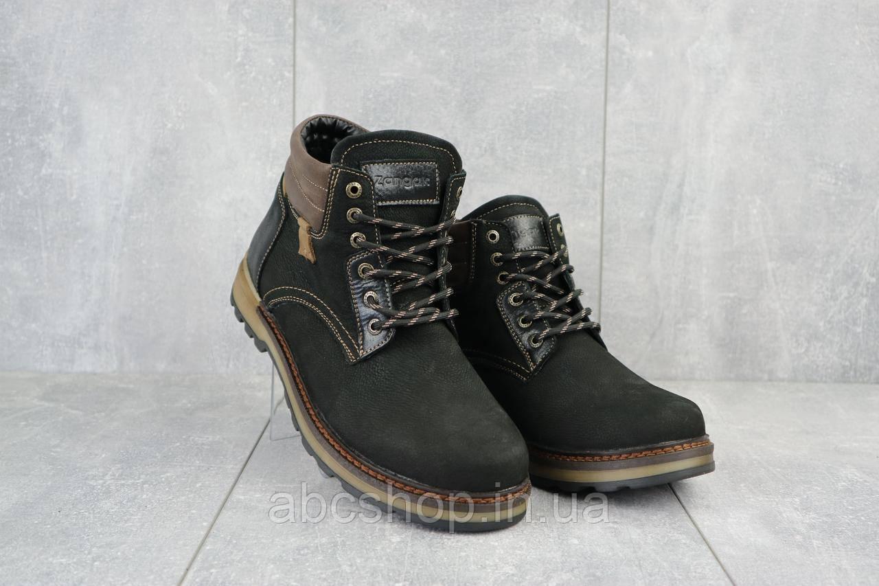 Ботинки мужские Zangak 942 чн черные (натуральная кожа, зима)