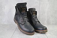 Мужские ботинки кожаные зимние черные Belvas 5507/1, фото 1