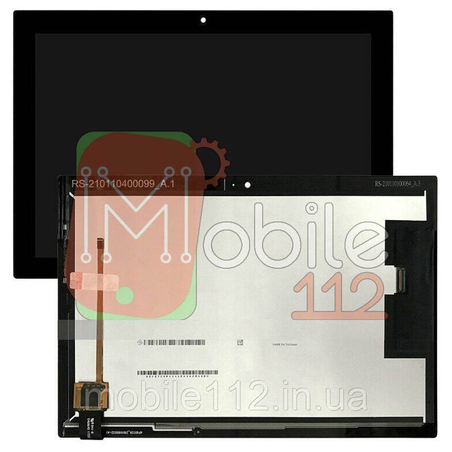 """Экран (дисплей) Lenovo Tab 4 10"""" TB-X304L X304F + тачскрин черный"""