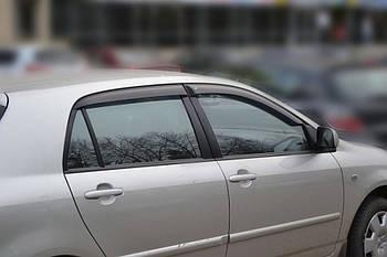 Дефлекторы окон (ветровики) TOYOTA Corolla Hb 5d 2001-2007