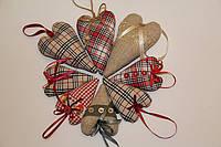 Подарки - сердечки, текстильные, к дню Святого Валентина!
