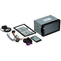 Автомагнитола с сенсорным экраном CAR PLAYER MP5 + GPS 7010G (автомагнітола з сеносрним екраном)