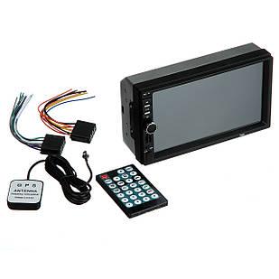 Автомагнитола с сенсорным экраном CAR PLAYER MP5 7 дюймов 2 din с GPS 7002